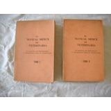 El Manual Merck De Veterinaria Dos Tomos - Primera Edicion