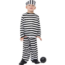 Disfraz De Preso Para Chicos, Niños Y Niñas, Disfraces Top