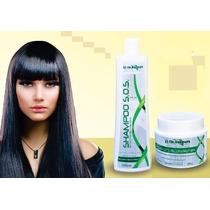 Burana Cosmeticos Kit Reconstrução 2x1 Shampo E Mascara