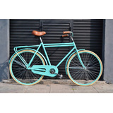 Bicicleta Inglesa Doble Caño Rodado 28 Canasto Contra Pedal