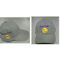 Bonés Com Bordados Personalizados (bordado Frente E Lateral)