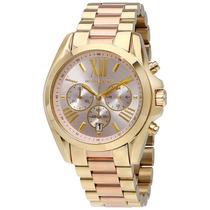 Reloj Michael Kors Collection Mk6359 Bradshaw Dos Tonos