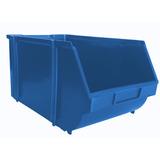 Gaveta Plástica Bin N°7 Azul Pacote Com 24 Peças