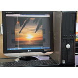 Pc Dell Optiplex 320 Dual Core 512mb 80gb - Oportunidad!
