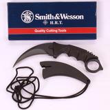 Faca Karambit Cs Go Black Preta Afiado Smith & Wesson