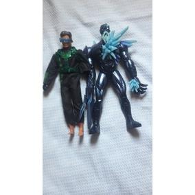 Boneco Max Steel, Da Mattel, Usado (lote Com Dois)