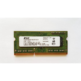 Memória Ram Notebook Ddr3 2gb Smart Modular