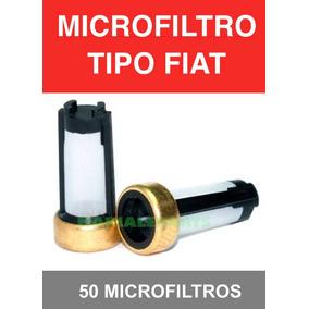 Microfiltro Fiat Webber Fiat Inyector De Gasolina 50 Piezas