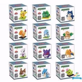 Mini Lego Do Pokemon Pikachu 21 Modelos - Kit 1 Pcs A005