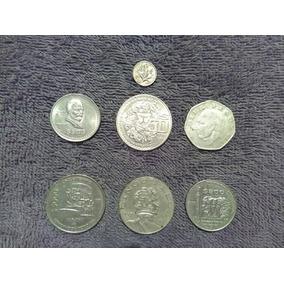 Monedas Mexicanas Antiguas Variadas 70s,80s Precio Por Todas