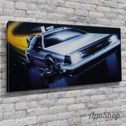 Cuadro Lienzo Canvas 60x30 Delorean Back To The Future Y Más