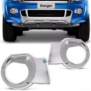 Kit X 2 Aplique Cromado Ford Ranger 2012 2013 2014 2015  Aro Faro Auxiliar