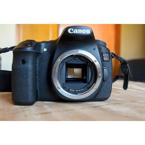 Câmera Canon 60d Só O Corpo - Superpromoção - Novíssima