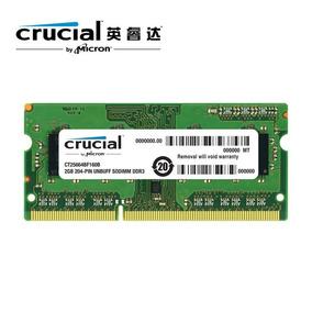 Memoria Ram Lapto 2gb Ddr3 Crucial,kingston Nuevas Selladas
