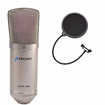 Fg 01 Microfone Arcano Am-01 (st-01) + 01 Pop Filter Amf1