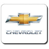 Logotipo De Chevrolet - Cojín De Ratón - Marca Art Placas