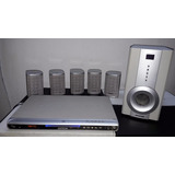 Home Theater 5.1 Admiral Ar-5501 + Dvd Super Oportunidad