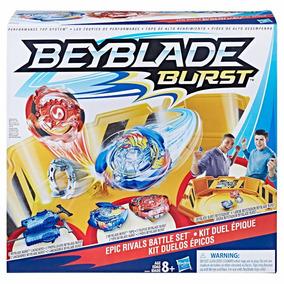 Brinquedo Beyblade Burst Kit Arena Para Duelos Épicos B9498