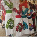Lote/set 15 Vestidos Artesanales Bordados De Chiapas!