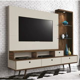 Estante Home Theater Edn Tiffany Com 3 Portas Basculantes E