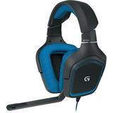 Audifonos Gamers Con Microfono- Logitech G430 - Negro
