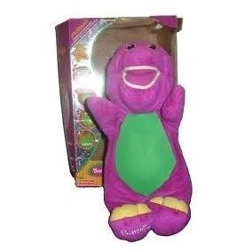 Barney Muñeco Flexible Super Suave Fisher Price