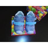 Zapatillas De Bebe Niño Talla 21 Bubble Gummers Nuevo