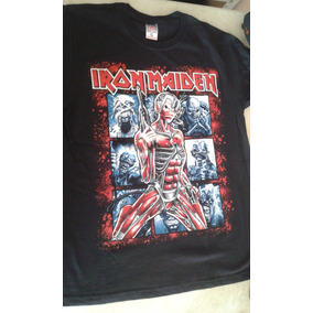 Camisetas De Rock Iron Maiden