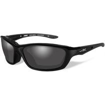 Gafas Wiley X Militares Con Marco Brick Grey Lens Matte