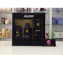Kit Perfume Ferrari Black Edt 125ml