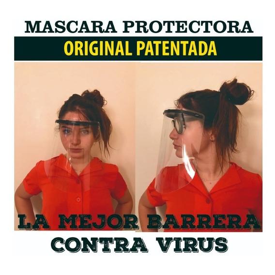 Mascara Facial Protector Reutilizable Barrera Sanitaria
