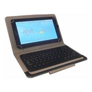 Funda Con Teclado Inalámbrico Para Tablet 10  Eco Cuero Noga