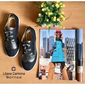 Zapato Mujer Bottier Sport Jeans X Roca Negro