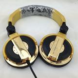 Fone Pioneer Hdj 1000 Dourado Pronta Entrega