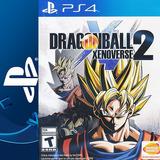 Dragon Ball Xenoverse 2 Ps4 Digital (cp)