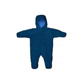 Buzo Térmico Impermeable Azul. Color: Azul, Talla: 3 A 6 Me