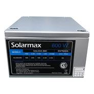 Fuente Solarmax Para Pc Slim 600w Con Cable Kc-eaa-600