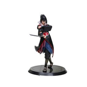 Sasuke Uchiha Action Figure - Naruto - Figura De Ação - 17cm