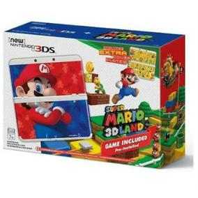 New Nintendo 3ds Super Mário 3d Land Lancamento+carregador