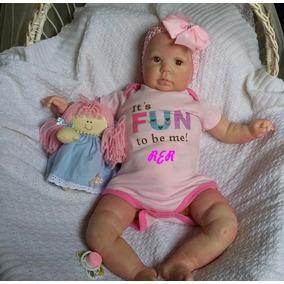 Bebe Reborn Menina- Pronta Entrega