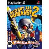 Destroy All Humans 2 Ps2 Patch - Frete Grátis