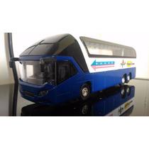Miniatura Ônibus De Viagem Premier Express Eco8100 - Azul