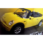 Mini Cooper Cabriolet Cararama 1:24 Carros Miniaturas