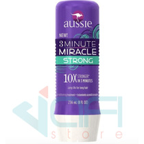 Aussie 3 Minute Miracle Strong Mascara Tratamento 236ml