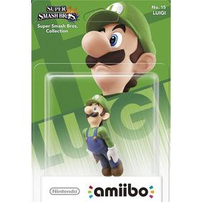 Boneco Amiibo Luigi - Super Smash Bros -frete Gratis