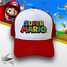 Gorro Super Mario Bros Edico - Bonés no Mercado Livre Brasil d57d79318da