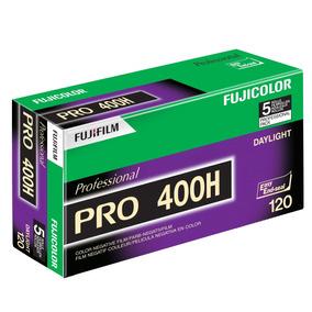 Fujifilm 16326119 Fujicolor Pro 120, 400h Película Negativa.