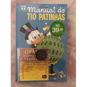 Manual Do Tio Patinhas - Novo/lacrado - Com Moeda Nº 1