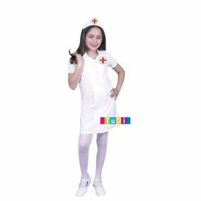 Disfraz Niña Enfermera Doctora Oficio - Disfraces Tudi