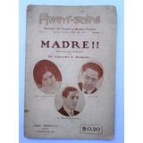 Antigua Revista Avant Scene Año 1 Num. 1 Teatro Y Radio 1934